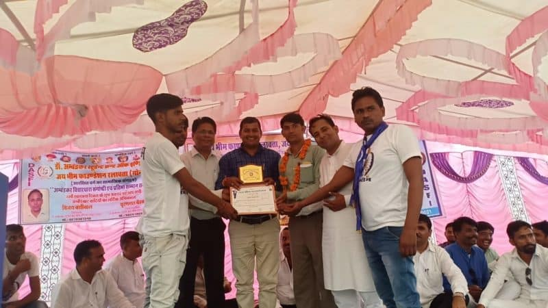 21 Social workers decorated with Dr. BR Ambedkar Ratna
