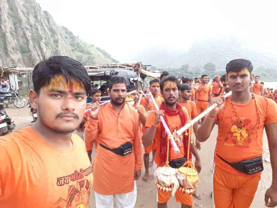 150 cavalry crew left for Malpura with water from Bisalpur dam