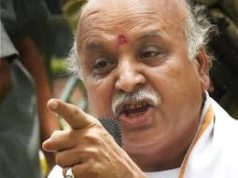 Togadia slams BJP on plot: 500 crores killed in BJP office