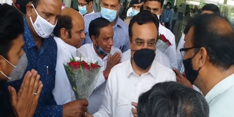 Ajay Maken, state in-charge of Rajasthan Congres