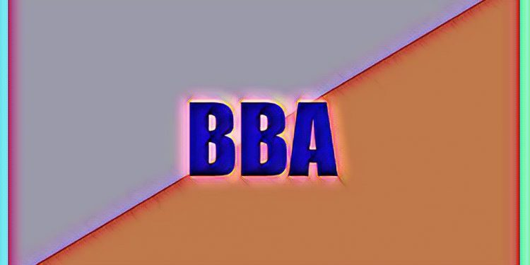 How many subjects are there in BBA
