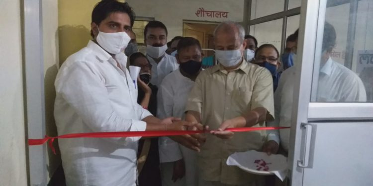 Minister of State for Medical and Health Dr. Subhash Garg