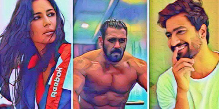 Salman khan katrina vicky