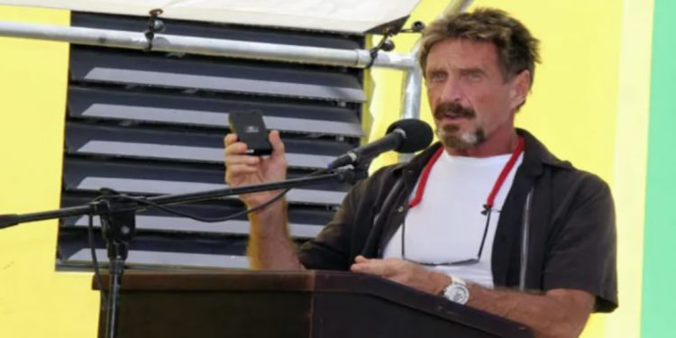 Software tycoon John McAfee was found dead